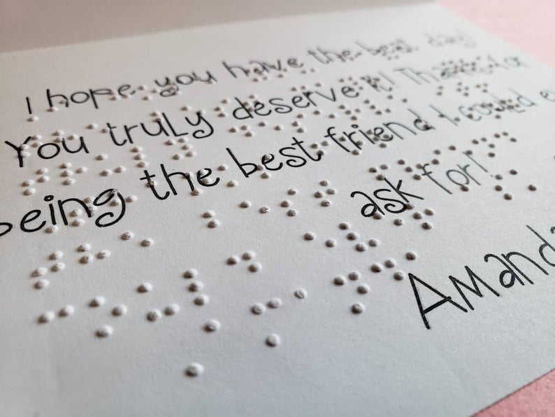 braille cards