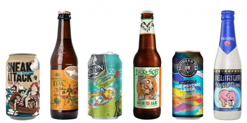 Focus on the beer label printing service